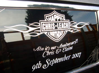 Personalised for Chris & Elaine Leech
