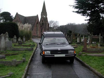 One of our MK2 Granada Hearses